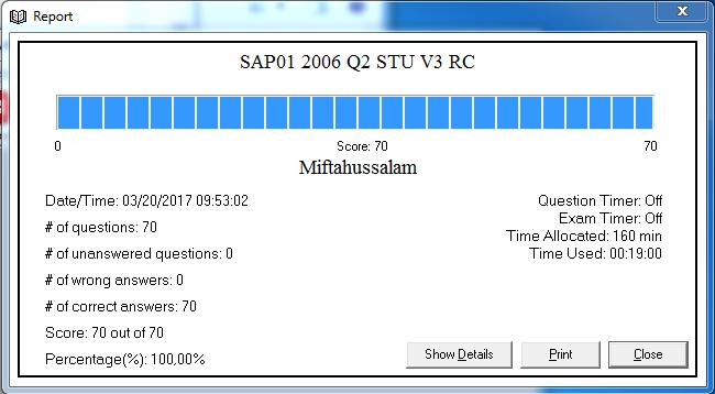 Contoh Soal Ujian SAP01 Fundamental Beserta Jawabannya